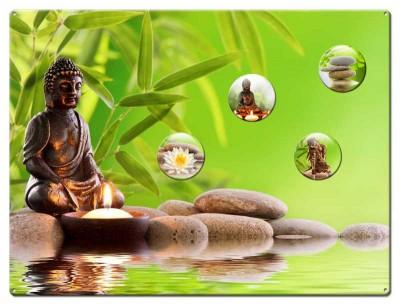 Magnettafel Buddha